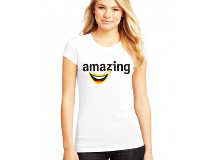 Dámské tričko amazon parodie