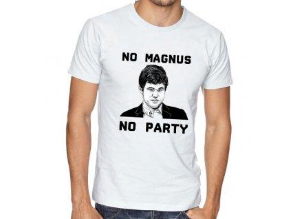 Pánské tričko magnus carlsen šachy