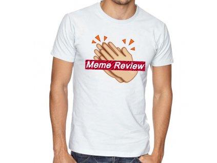 pánské bílé tričko pewdiepie meme review