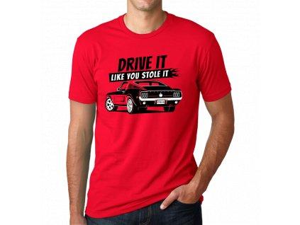 Pánské tričko drive it