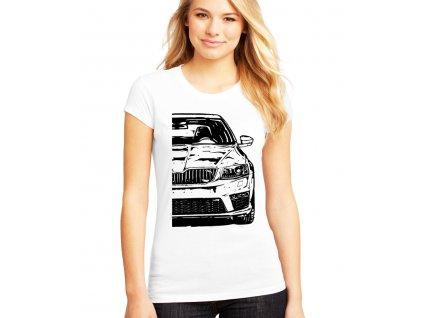 Dámské tričko Škoda Octavia