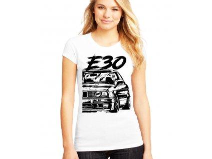 dámské tričko bmw e30
