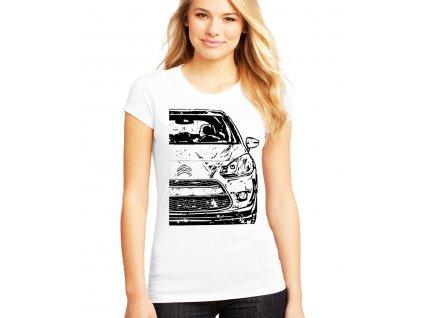 dámské tričko Citroen C3