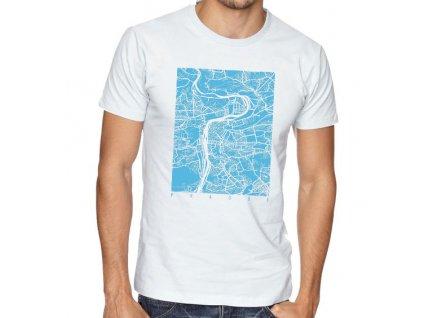pánské tričko praha mapa