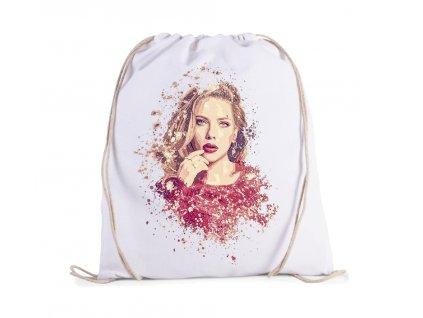 vak Scarlett Johansson Kresba