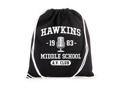 vak Stranger Things Střední škola Hawkins