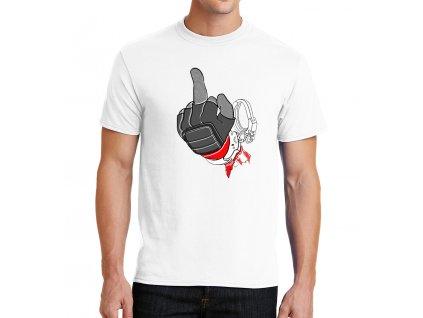 panske tričko Deadpool a Prostředníček