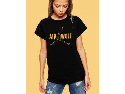dámské tričko air jordan wolf parodie na nike air jordan