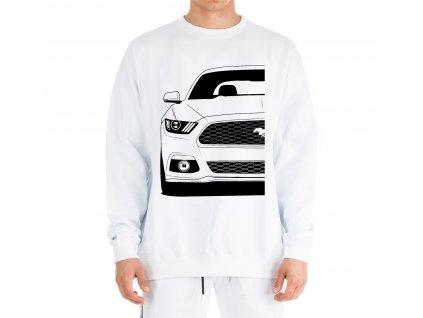 mikina bez kapuce Ford mustang