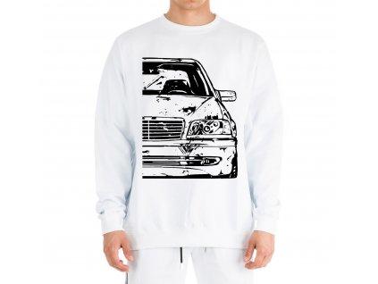 mikina bez kapuce Mercedes W202