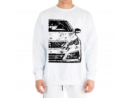 mikina bez kapuce Peugeot 308