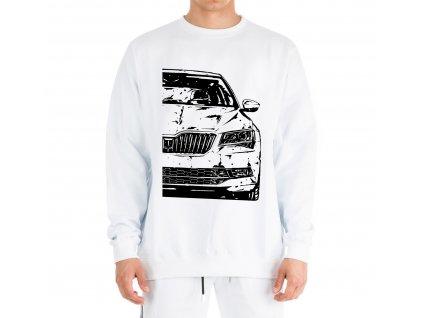 mikina bez kapuce Škoda superb 3