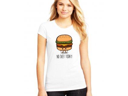 dámské tričko dneska nedržím dietu