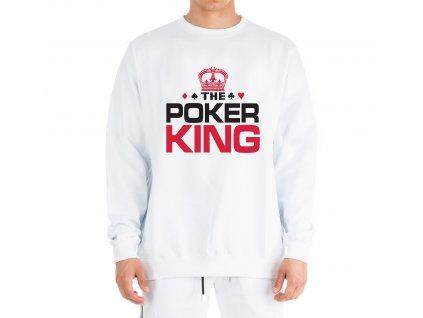 mikina bez kapuce Pokerový Král