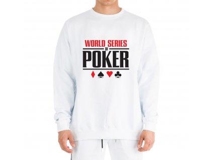 mikina bez kapuce WSOP