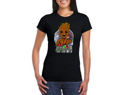 dámské tričko groot strážci galaxie