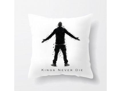 polštář Eminem kings never die
