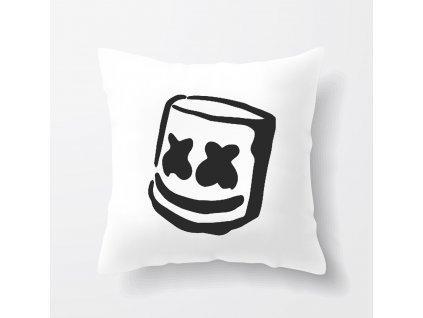 polštář Marshmello smile