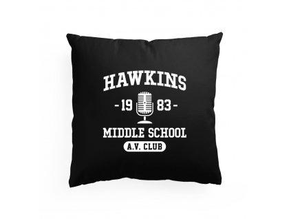polštář Stranger Things Střední škola Hawkins