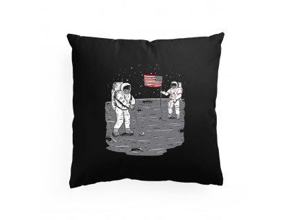 polštář Golf na Měsíci