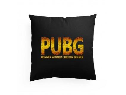 polštář PUBG Chicken Dinner