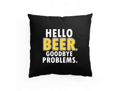 polštář Ahoj Pivo Problémy Stranou
