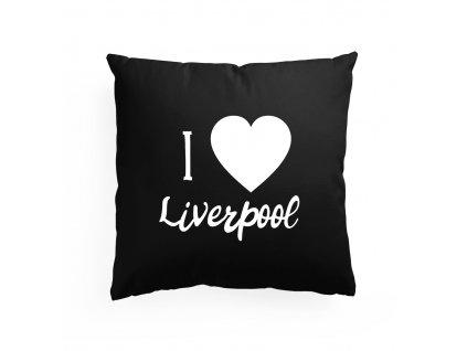 polštář Miluji Liverpool FC