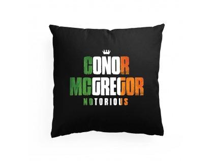 polštář Notorious conor mcgregor