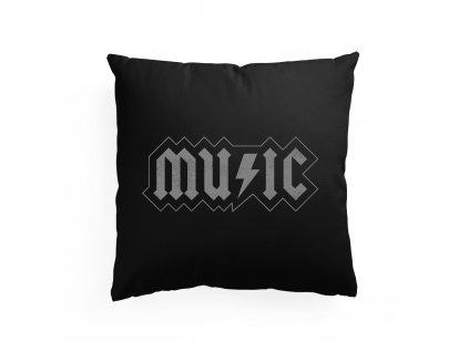 polštář AC DC Music