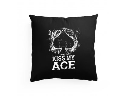 polštář Poker Kiss My Ace