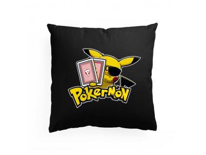 polštář Poker a Pokemon