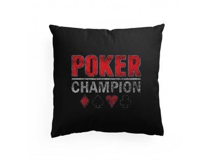 polštář Poker Champion