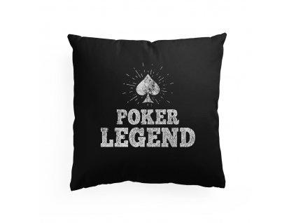polštář Pokerová Legenda