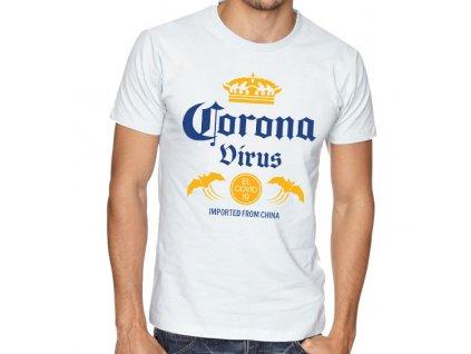 pánské tričko coronavirus