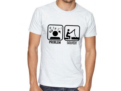 Pánské Tričko Rybaření problémy