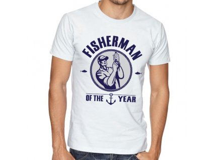 Pásnké tričko Rybář roku