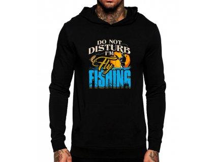 Mikina s kapucí nevyrušuj rybařím