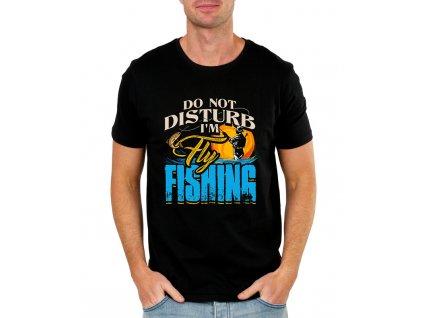 pánské tričko nevyrušuj rybařím