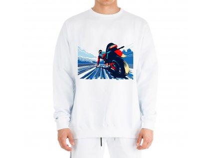 Mikina Motorkář závod