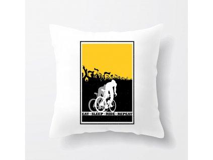 Polštář Cyklista Najít Vyspat Jezdit Opakovat