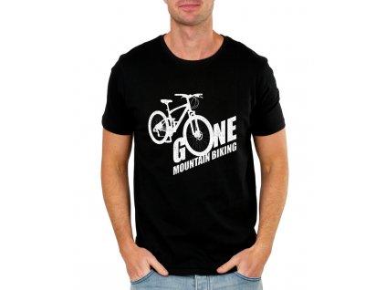 Pánské tričko Horská jízda na kole