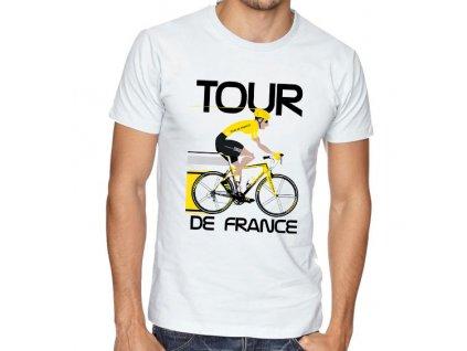 Pánské tričko Tour de france