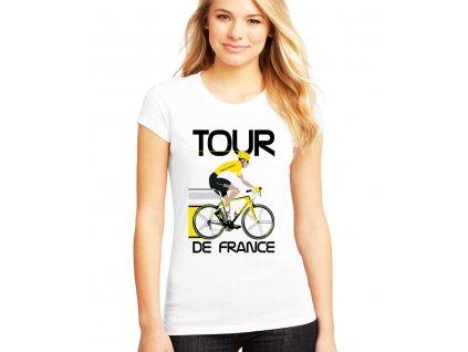 Dámské tričko Tour de france