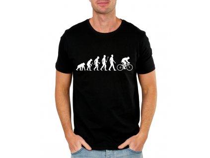 Pánské tričko Cyklistika evoluce