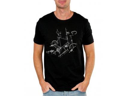 Pánské tričko Kolo Součástky