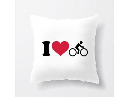 Polštář Miluji Cyklistiku