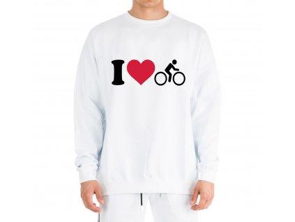Mikina Miluji Cyklistiku