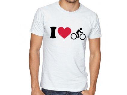 Pánské tričko Miluji Cyklistiku
