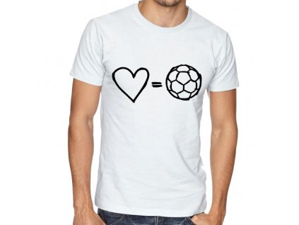 Pánské tričko Láska k fotbalu