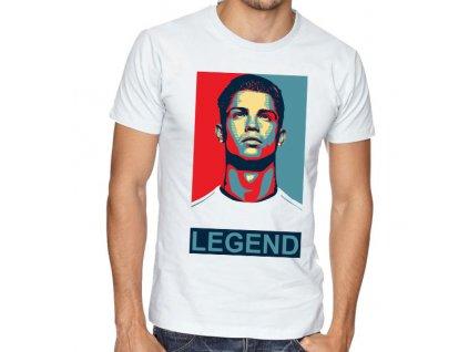 Pánské tričko Ronaldo Legenda